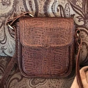 Brahmin leather crossbody